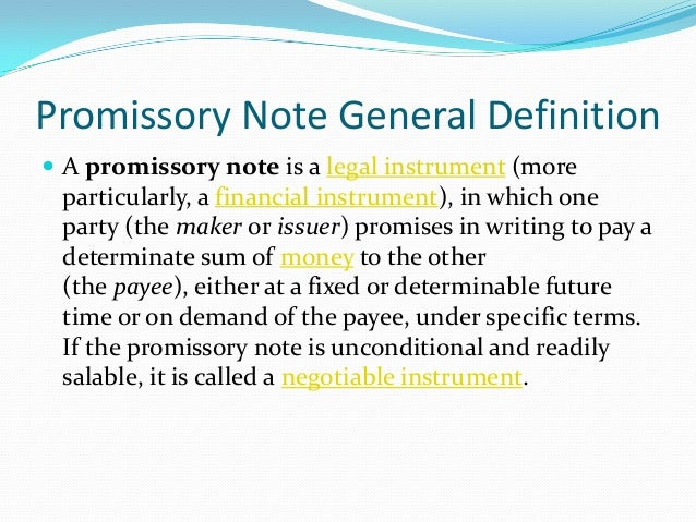 Promissory Note & Loan Agreement : Details & Sample Templates
