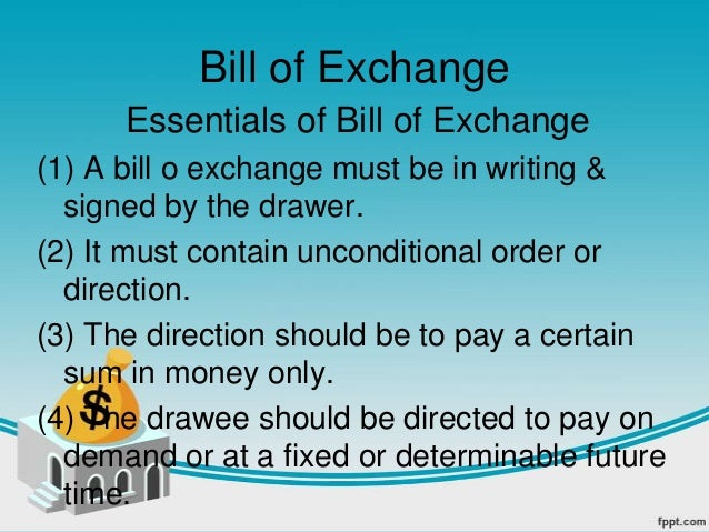 Promissory note bill of exchange bill of exchange altavistaventures Image collections