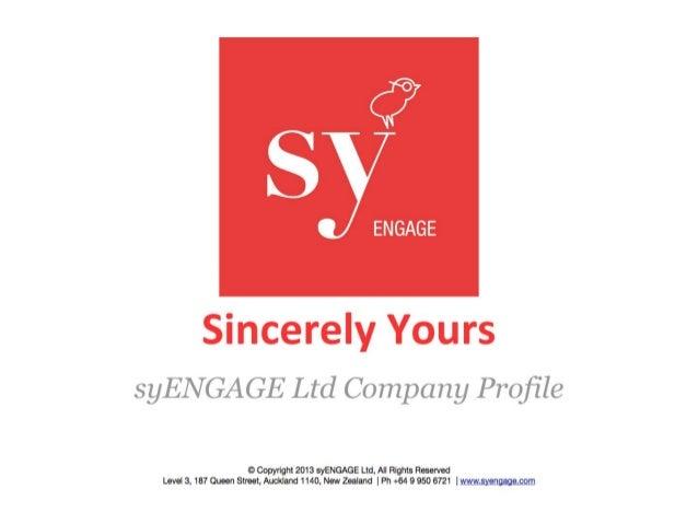 syENGAGE Company Profile