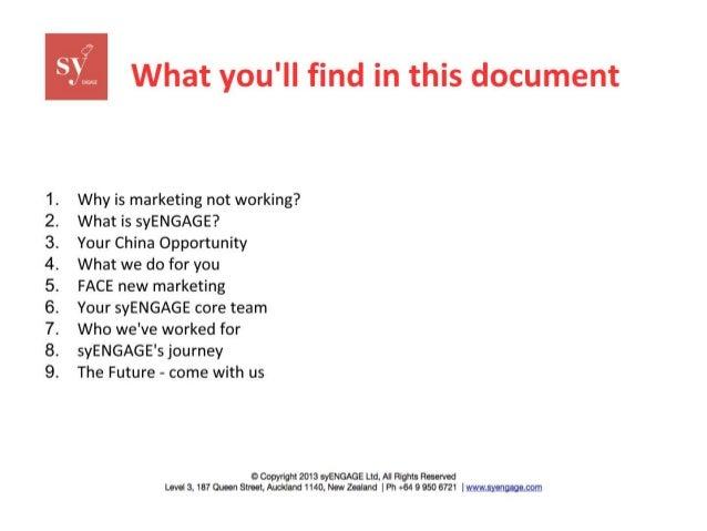 syENGAGE Company Profile Slide 2