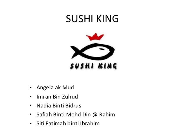 sushi king swot analysis A swot analysis of burger king, the fast food restaurants brand read more about its strengths, weaknesses, opportunities and threats.