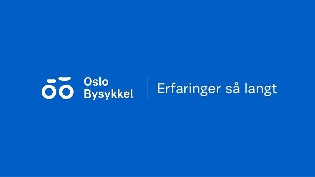 oslo bysykkel kart Sykkelseminar 12/1 2017: Oslo Bysykkel – ny bysykkelordning i 2016   … oslo bysykkel kart