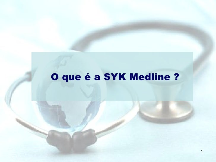 O que é a SYK Medline ?