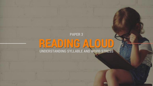 Reading Aloud Part 2 - Syllables and Word Stress (O' Level Oral Exami…