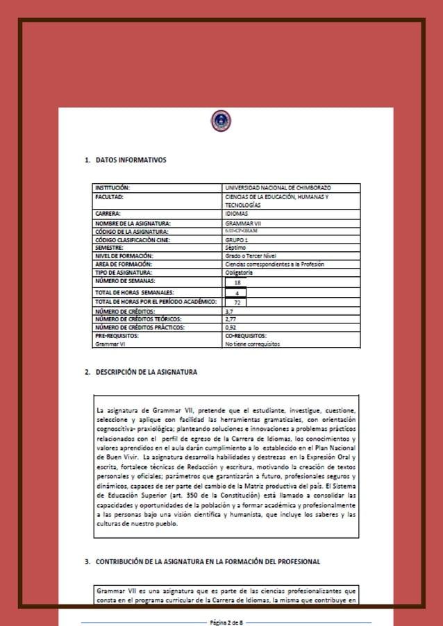 Universidad Nacional de Chimborazo Vicerrectorado Académico