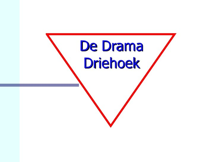 De Drama Driehoek