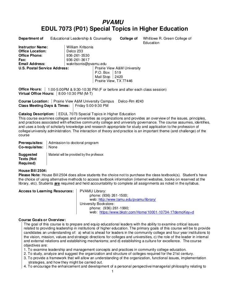 Exemplary dissertation proposal education