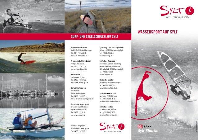 Wassersport auf syltSURF- UND SEGELSCHULEN AUF SYLTSurfschule Ralf Meyer            Syltsurfing Surf- und SegelschuleMobil...