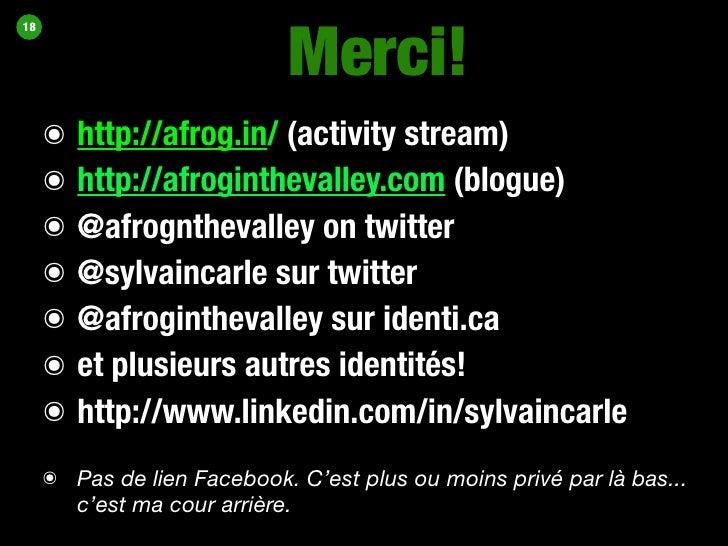 Sylvain Carle @ Identity Camp Mtl