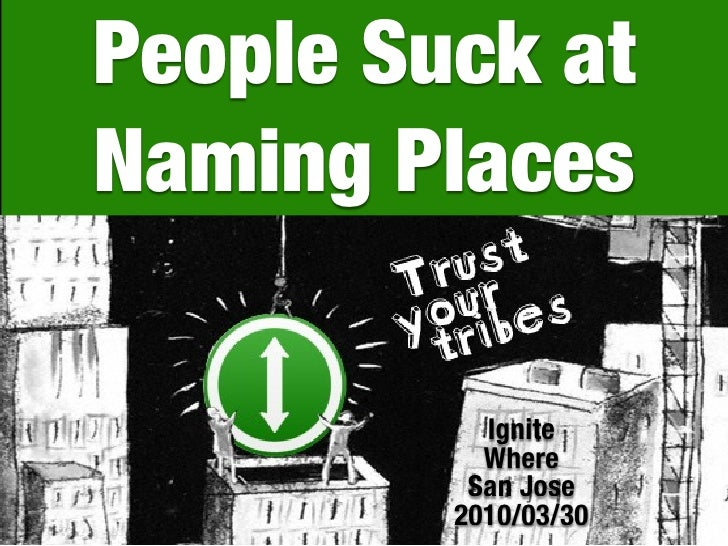 People Suck at Naming Places             Ignite            Where           San Jose          2010/03/30   1