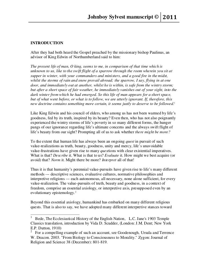 Johnboy Sylvest manuscript © 2011INTRODUCTIONAfter they had both heard the Gospel preached by the missionary bishop Paulin...