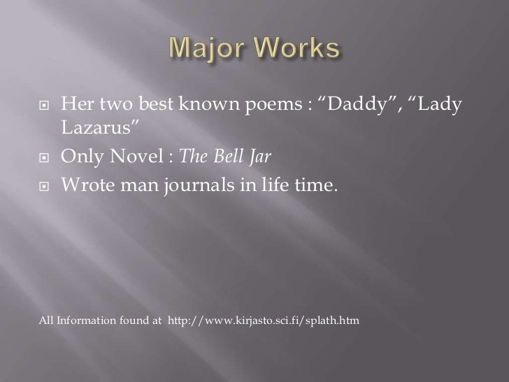 sylvia plath daddy theme