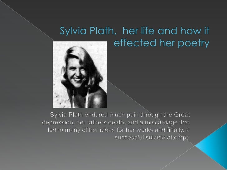sylvia plaths preoccupation with death edge