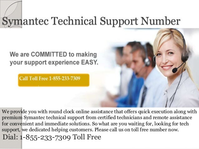 Symantec Technical Support Number @ Contact us: 1-855-233