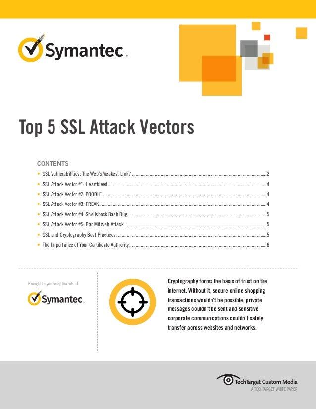 Symantec - Top 5 SSL Attack Vectors