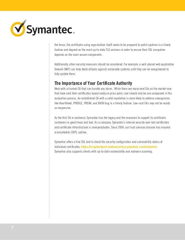 Symantec Top 5 Ssl Attack Vectors