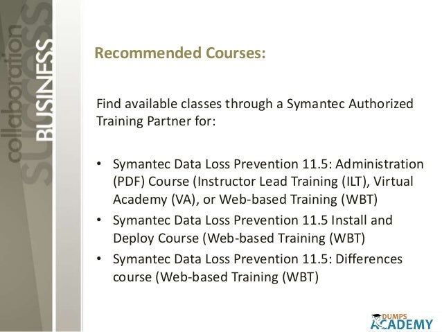 symantec 250 512 administration of symantec data loss