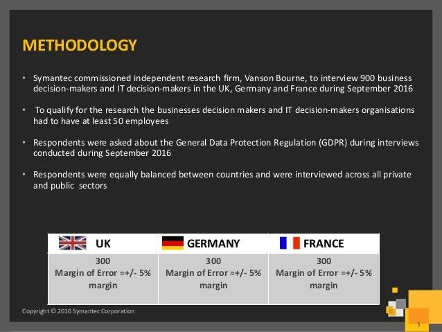 Symantec - State of European Data Privacy Slide 3