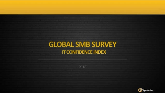 Symantec SMB Survey