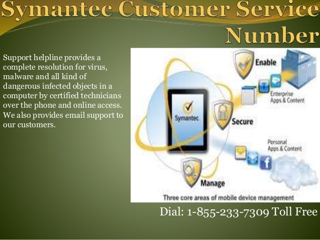 symantec customer service