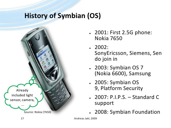 Symbian OS Overview