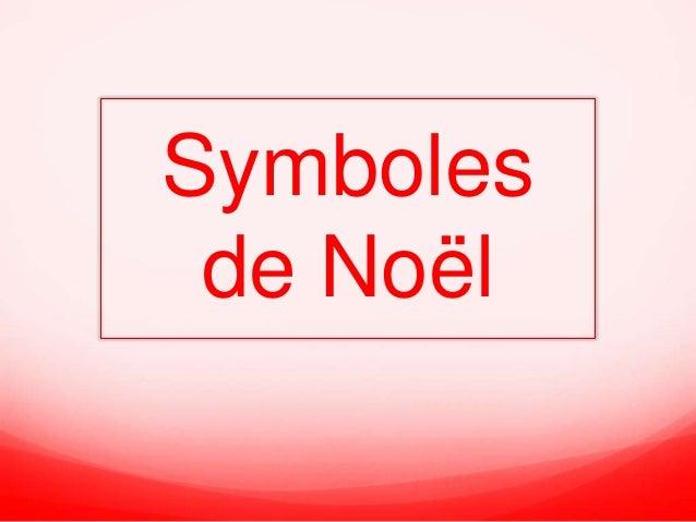 Symboles  de Noël