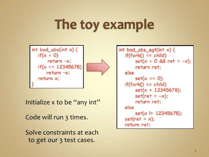 Symbolic Execution And Klee