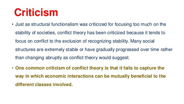 Symbolic Interactionism, Structural-Functional Theory and Conflict Theory