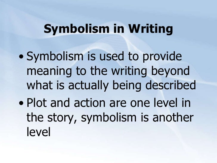 attitude meaning symbolism and allegory The symbolist movement: to make the invisible visible symbolism is always confusing because we use the word to refer to the study of symbols or iconography in art works, but it also refers to a specific movement.