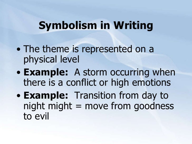 Example Of Symbolism  Underfontanacountryinncom Example Of Symbolism English Essays Samples also What Is A Thesis Of An Essay  Thesis Statement Examples For Essays