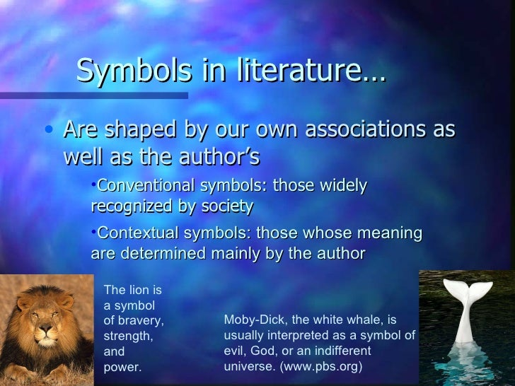 water symbolism in literature
