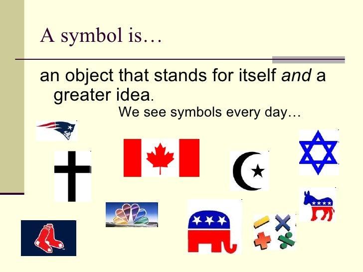 Importance od f symbolic objects