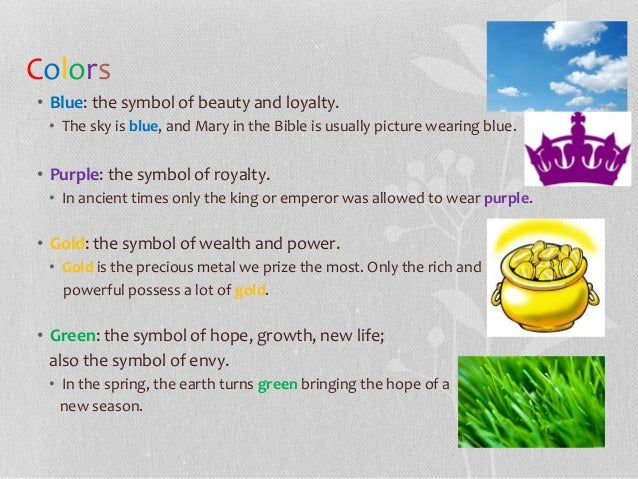 Symbolism Examples Roho4senses