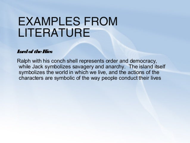 the images for > symbol in literature gallery for > symbo pic source