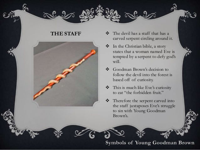 Young Goodman Brown Staff