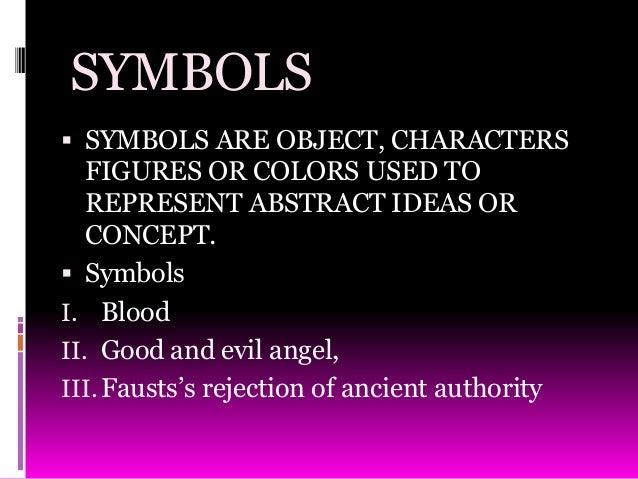 symbolism in dr faustus