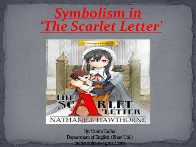 scarlet letter symbolism thesis The book represents sin and guilt through symbolism and character development in h  the scarlet letter - thesis on the theme of sin and guilt (2005,.