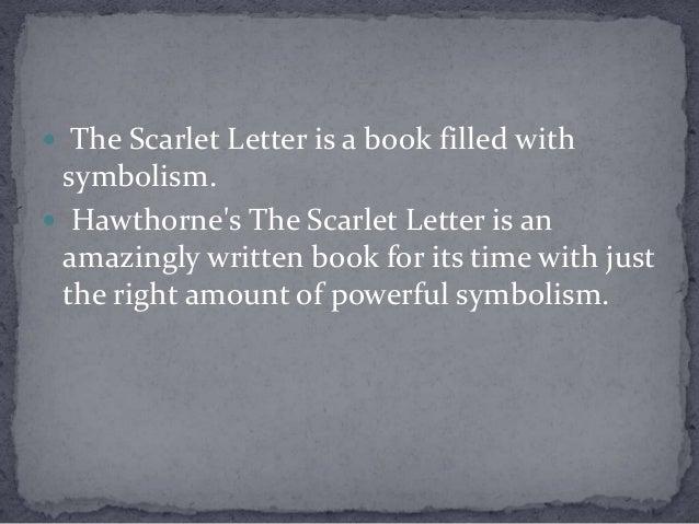 scarlet letter symbolism essay