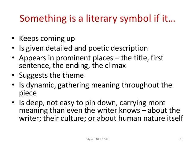 Symbolism In Literature And Life