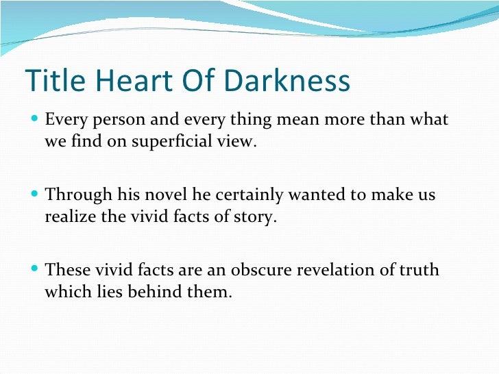 SYMBOLISM IN HEART OF DARKNESS EPUB
