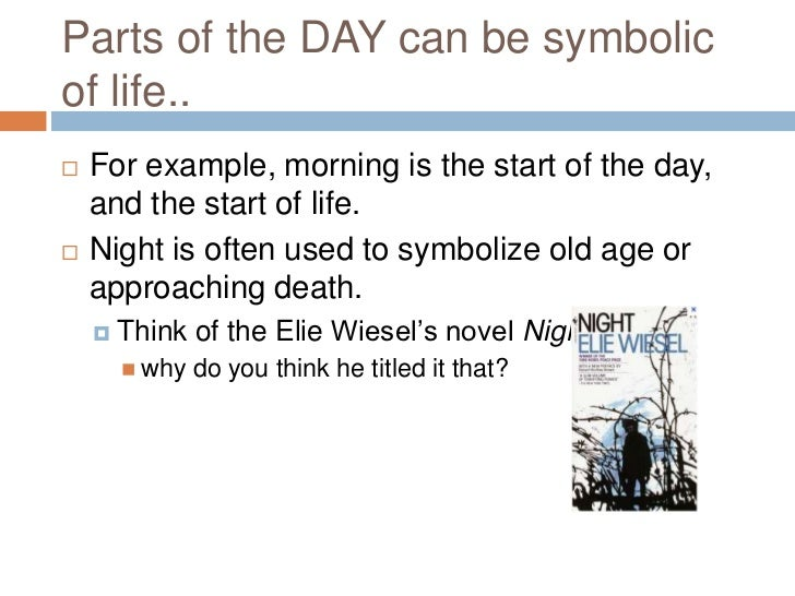 Symbol In Literature Introduction To Literary Forms Symbolism Mr