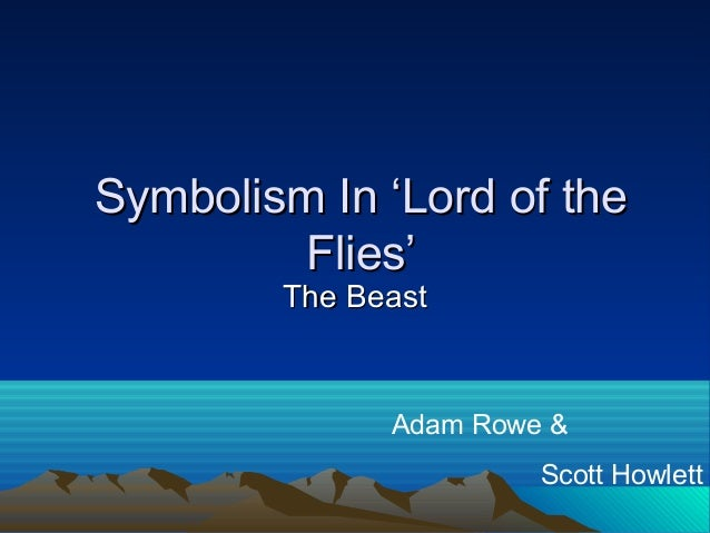 an analysis of lord of the flies as an allegory Explore the end of civilization with questions on evil, innocence, savagery, christian allegory, and freudian theory.