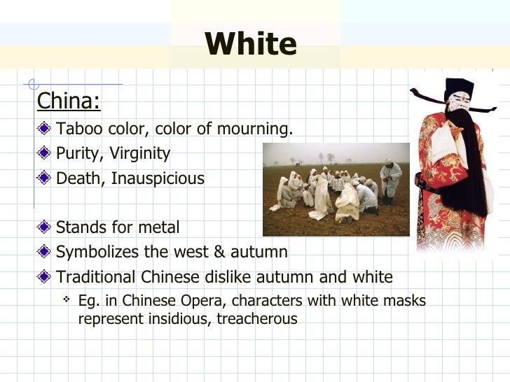 Symbolism Of Color Between China And Europe