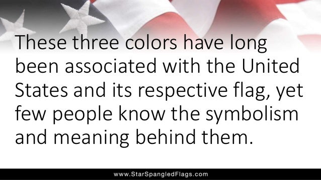 Symbolism Of The American Flag Explained