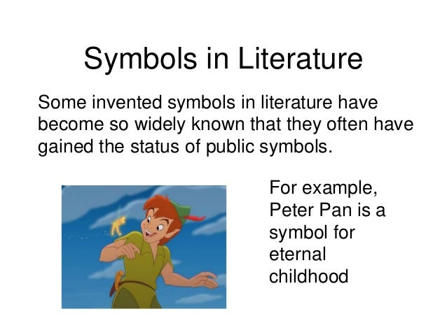 examples of symbolism in books