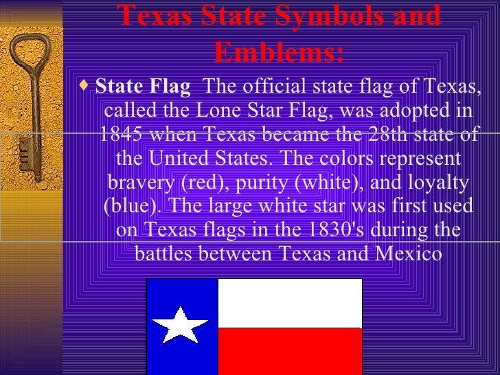 Texas Symbols Larocque