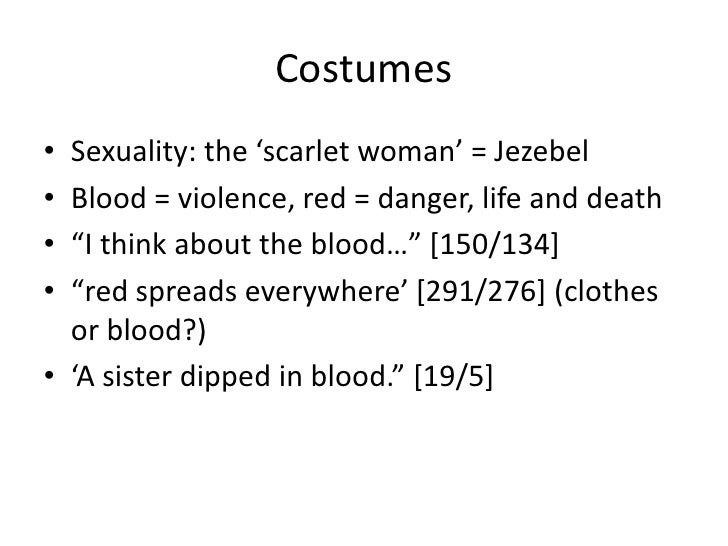 The Handmaids Tale Symbols And Motifs