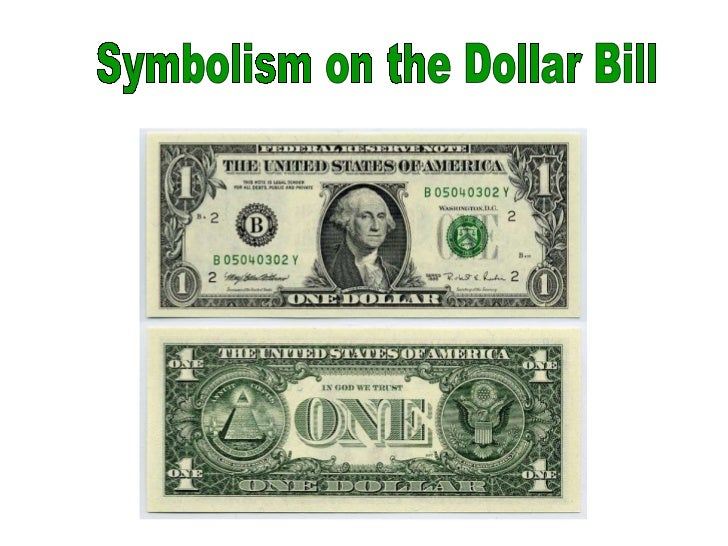 Symbols Of The Dollar Bill