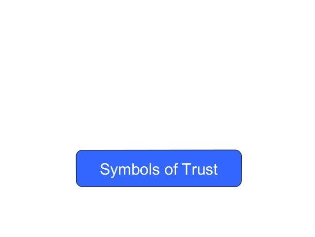Symbols of Trust