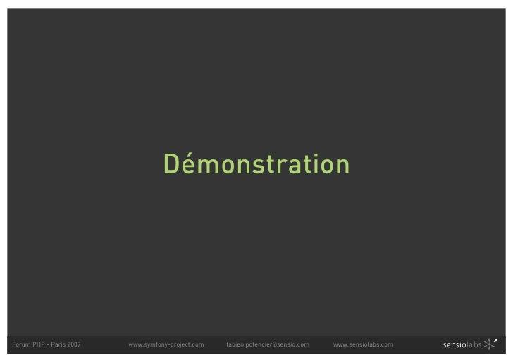 symfony   simplifier le d u00e9veloppement des interfaces bases
